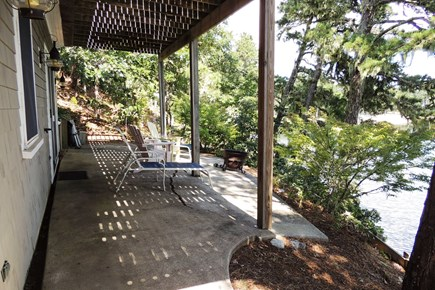 Harwich Cape Cod vacation rental - Patio with fire pit
