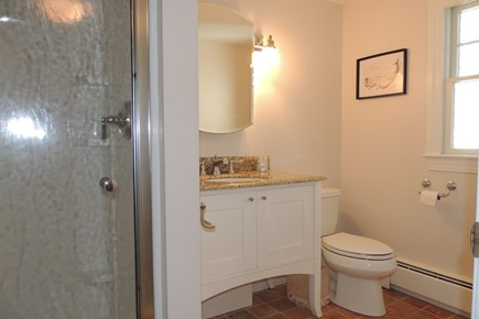 Harwich Cape Cod vacation rental - Bathroom 1 of three full nicely tiled baths