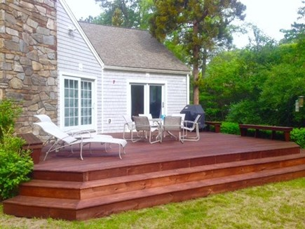 New Seabury New Seabury vacation rental - Spacious Deck with gas grill