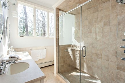 New Seabury New Seabury vacation rental - Master bath with walk in shower and double vanity