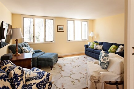 New Seabury New Seabury vacation rental - Den/reading room with pull out sofa