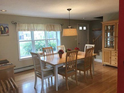 Brewster Cape Cod vacation rental - Dining Area, Alternate View
