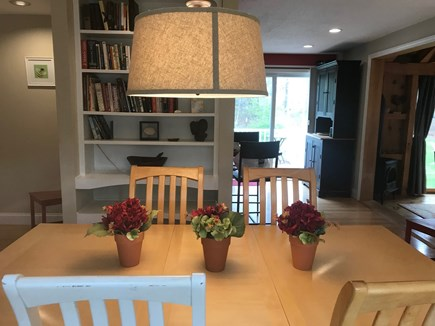 Brewster Cape Cod vacation rental - Dining Area Looking Towards Kitchen