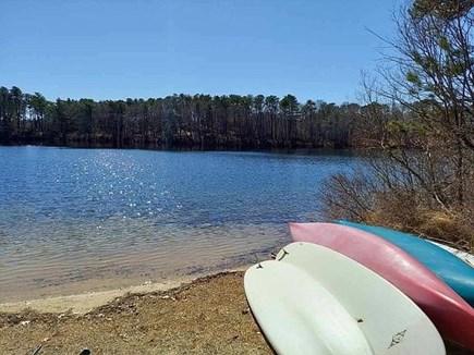 Falmouth Cape Cod vacation rental - Pond toys , 2 paddleboards, canoe , kayak , fishing poles ....