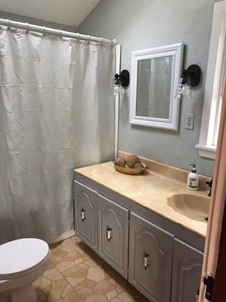 Dennisport Cape Cod vacation rental - Bathroom off of kitchen area