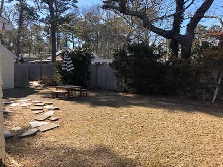 Dennisport Cape Cod vacation rental - Spacious Back yard