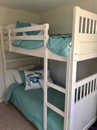 Dennisport Cape Cod vacation rental - Bunk beds in 3rd bedroom