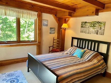 Brewster (Blueberry Pond)  Cape Cod vacation rental - Queen bedroom first floor