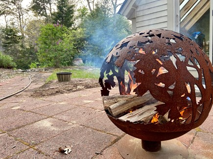 Brewster (Blueberry Pond)  Cape Cod vacation rental - Firepit in the yard for s'mores