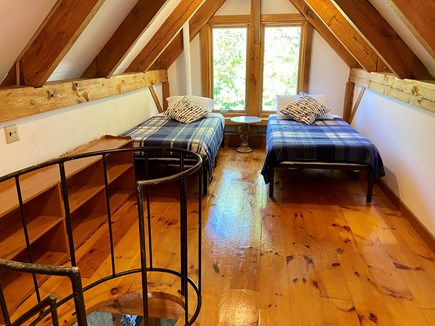 Brewster (Blueberry Pond)  Cape Cod vacation rental - Upper loft with 2 twin beds
