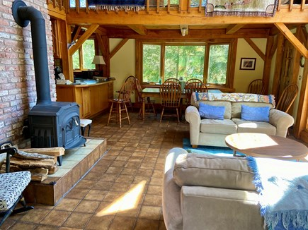 Brewster (Blueberry Pond)  Cape Cod vacation rental - Enjoy the morning sunshine in the Great Room