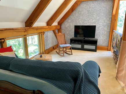Brewster (Blueberry Pond)  Cape Cod vacation rental - Cosy tv area (second floor)