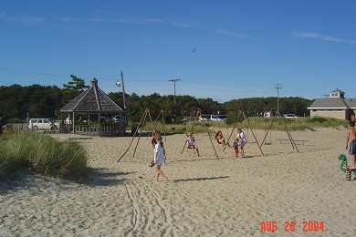 South Yarmouth Cape Cod vacation rental - Playground at the beach