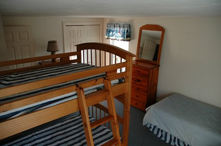 South Yarmouth Cape Cod vacation rental - 2nd floor 'kids room' - twin over twin bunks and twin bed