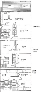 South Yarmouth Cape Cod vacation rental - Floorplan