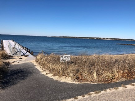 North Falmouth Cape Cod vacation rental - Neighborhood beach, 5 min walk from house.