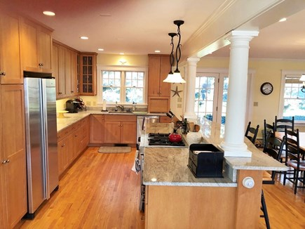 North Falmouth Cape Cod vacation rental - Kitchen with center island