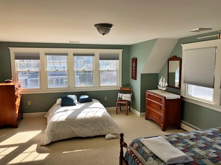 North Falmouth Cape Cod vacation rental - Bunk room has 3 twins and 1 futon