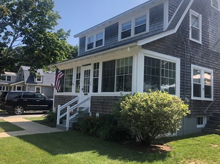 West Yarmouth Cape Cod vacation rental - Front of house adorable front porch!