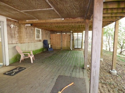 Dennis Cape Cod vacation rental - Under Deck access from walkout basement