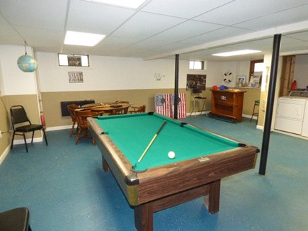 Dennis Cape Cod vacation rental - Pool Table in Basement