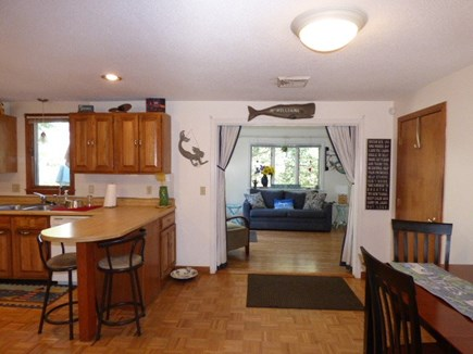 Dennis Cape Cod vacation rental - Looking in to family room/bedroom