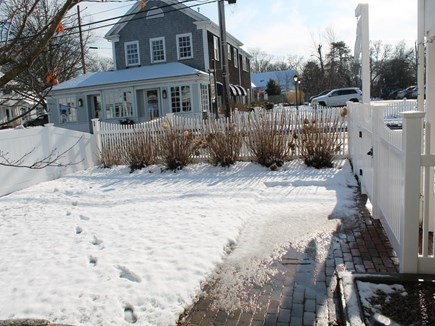 Harwich Port Cape Cod vacation rental - Front Yard  on Main Street