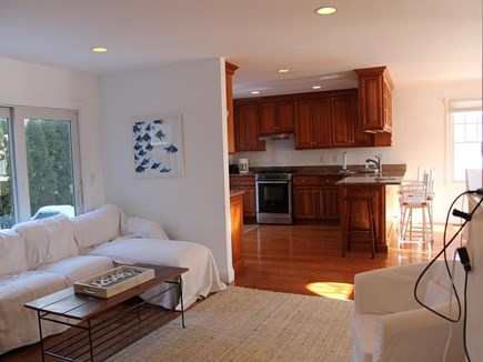 Harwich Port Cape Cod vacation rental - Living Room Looking Towards Kitchen