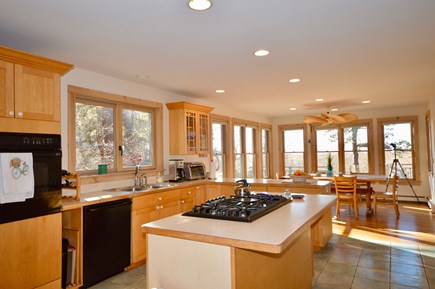 Eastham Cape Cod vacation rental - Beautiful, spacious kitchen is filled with natural light