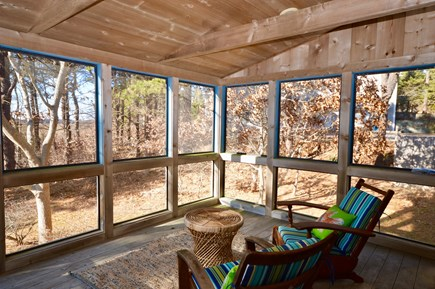 Eastham Cape Cod vacation rental - Screened porch for enjoying the breezes