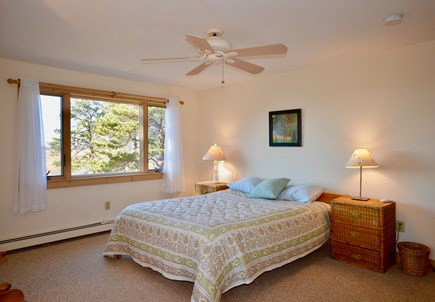 Eastham Cape Cod vacation rental - Bedroom 3 - second floor queen with marsh and bay views