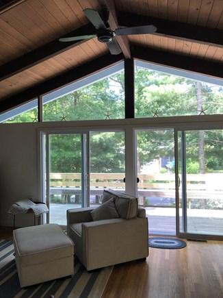 Falmouth Cape Cod vacation rental - Surrounding sliding doors