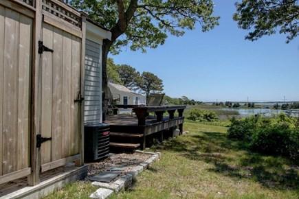 Hyannisport Cape Cod vacation rental - Convenient outdoor shower