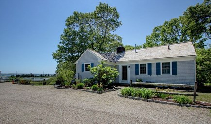 Hyannisport Cape Cod vacation rental - Front view of cottage
