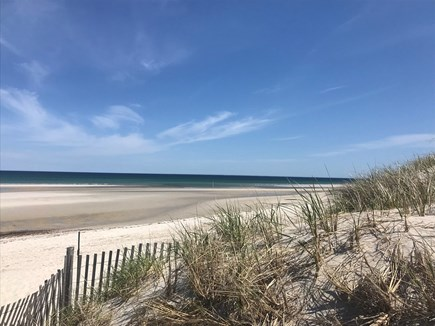 Dennis - Mayflower Beach Cape Cod vacation rental - Beautiful Mayflower Beach is just over a 1/2 mile away!