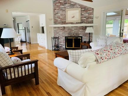 Dennis - Mayflower Beach Cape Cod vacation rental - Bright, Sunny Family Room
