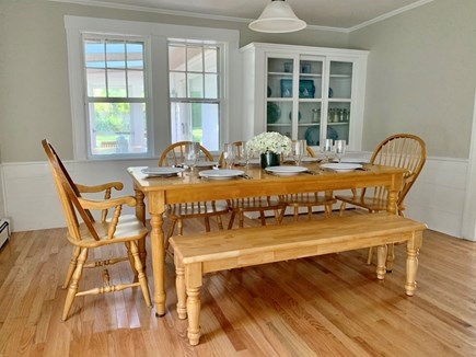 Dennis - Mayflower Beach Cape Cod vacation rental - Dining Room with Seating for Eight