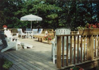 New Seabury (Mashpee) New Seabury vacation rental - Enjoy the outdoors on this beautiful deck.