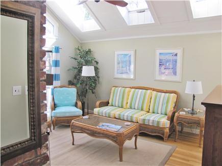 New Seabury (Mashpee) New Seabury vacation rental - Living room iwith Braxton Culler furnishings.Causal elegance