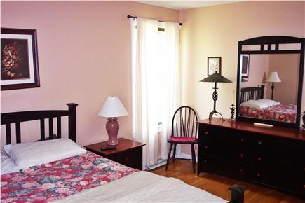 New Seabury (Mashpee) New Seabury vacation rental - Master bedroom features queen bed and flatscreen TV.