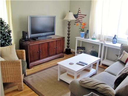 New Seabury (Mashpee) New Seabury vacation rental - Loft area with a flat sreen TV. Pull out sofa for guests.
