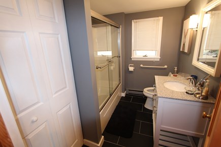Truro Cape Cod vacation rental - All Bathrooms Fully Renovated in 2019. Lower Level Bathroom.