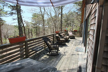Truro Cape Cod vacation rental - Large Wrap Around Deck.