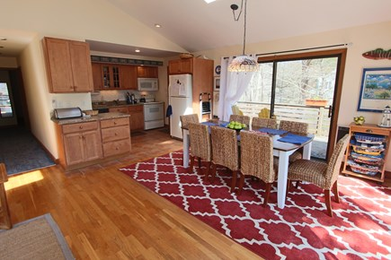 Truro Cape Cod vacation rental - Dining that seats 8, with Access to Kitchen.