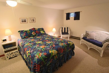 Truro Cape Cod vacation rental - Bedroom #2 on Lower Level with Queen Bed.