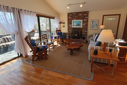 Truro Cape Cod vacation rental - Spacious Living Room.