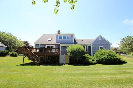 Chatham Cape Cod vacation rental - Great back yard for kids games, fire pits, and having a picnic!