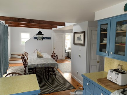 Chatham Cape Cod vacation rental - Kitchen looking into dining room.