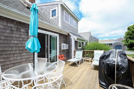 Chatham Cape Cod vacation rental - Back deck with grill