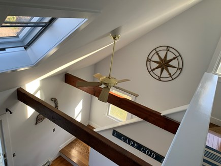 Chatham Cape Cod vacation rental - Upstairs bedrooms open to dining area and kitchen.